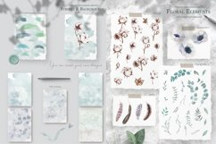 Cotton & Anemones Seamless Patterns Product Image 3