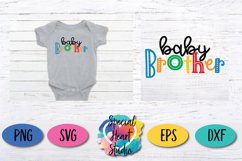 Brother Bundle - A set of brother sibling SVG designs Product Image 2