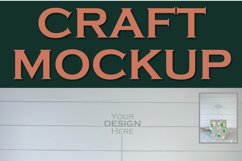 Mockup Cake Toppers Acrylic Stick topper Birthday | JPEG Product Image 2