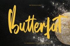 Web Font Butterfat - Handwritten Script Font Product Image 1
