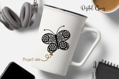 Butterfly SVG / DXF / EPS / PNG files Product Image 4