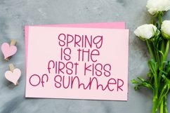 Web Font Springtime Memories - A Cute Hand-Lettered Font Product Image 4