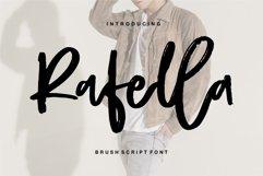 Rafella - Brush Script Font Product Image 1