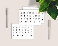 Split Monograms Font Product Image 3