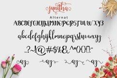Web Font Junitha Script Product Image 2