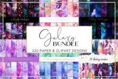 Galaxy paper BUNDLE digital paper pattern Product Image 1