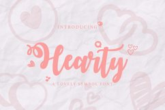 Web Font Hearty Product Image 1