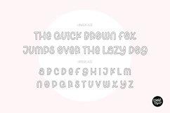 """""""SPRING BREAK"""" Sketch Font - Single Line/Hairline Font Product Image 2"""