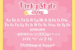 Pinky Style - Lovely Craft Font Product Image 6