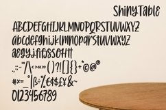 Web Font Shiny Table - Quotable Handlettering Font Product Image 4