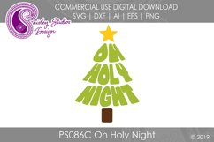 Oh Holy Night SVG DXF Ai EPS PNG Product Image 1