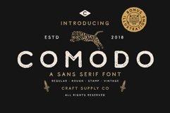Comodo Font Family BONUS Illustrations Product Image 1