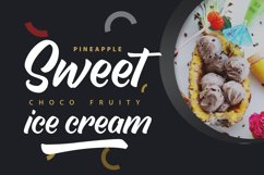 Delightin   Foody Brush Lettering Script Font Product Image 2