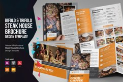 Food Menu Bifold-Trifold Brochure v2 Product Image 1