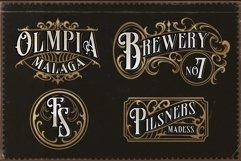 Famous flames vintage font Product Image 10