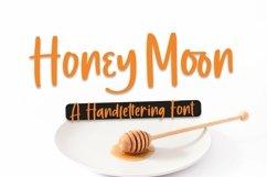 Web Font Honey Moon - Handlettering Font Product Image 1