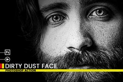 Dirty Dust Face Photoshop Actions Product Image 5