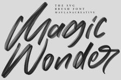 Moriss Ward SVG Brush Font Product Image 5