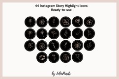 FLORAL Instagram Story Highlight Icons Product Image 3