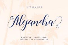 Web Font Alejandra Product Image 1