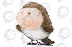 Baby Woodland   5 animal illustrations   PNG/JPEG clip art Product Image 6
