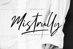 Mistrully Brush Script Product Image 1