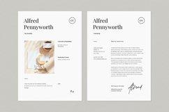 Resume & Portfolio Template - Alfred Product Image 2