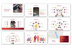Red Modernized Presentation Product Image 5
