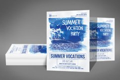 Summer Vocation Party Flyer Product Image 2