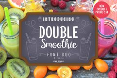 Double Smoothie Font Duo and Family Product Image 1