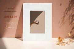 White Frames Mockups Bundle Product Image 4