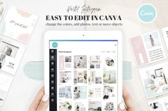 Canva Instagram Templates Pastel Product Image 6