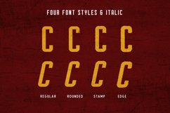 Courager Typeface (8 Fonts!) Product Image 6