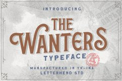 The Wanters - Display Typeface Product Image 1