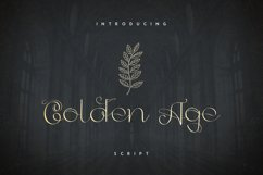 Golden Age Script Product Image 1