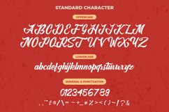Retro Casual Script - Anordighos Font Product Image 5