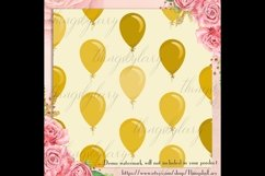 100 Seamless Balloon Pattern Kid Birthday Digital Papers Product Image 4