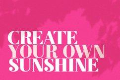 Sunrise Silencio Font Duo Product Image 5