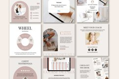 Engagement Instagram Post Templates, Podcast, Course Creator Product Image 2