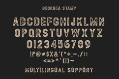 GEORGEA ALL CAPS FONT FAMILY WITH EXTRAS Product Image 11