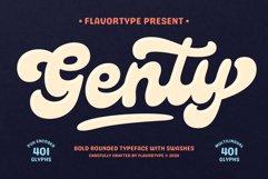 Genty - Bold Rounded Typeface Product Image 1