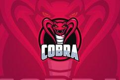 The King Cobra Mascot Logo Templates Product Image 1