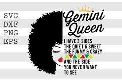 Gemini Queen SVG Product Image 1