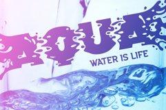 Plop liquid font Product Image 2