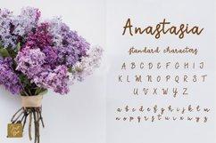 Anastasia a calligraphic font Product Image 2