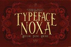 Noxa - Display Font Product Image 1