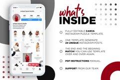 Fashion Minimalist Instagram Puzzle Preset for Canva Product Image 4