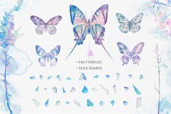 Watercolor floral design collection, herbal and ice Product Image 3