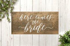 Wedding SVG Cut File Bundle for Signs Product Image 4