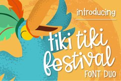 Tiki Tiki Festival Font Duo Product Image 1